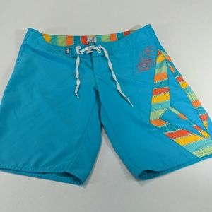 Miss mod volcom womens surf board shorts